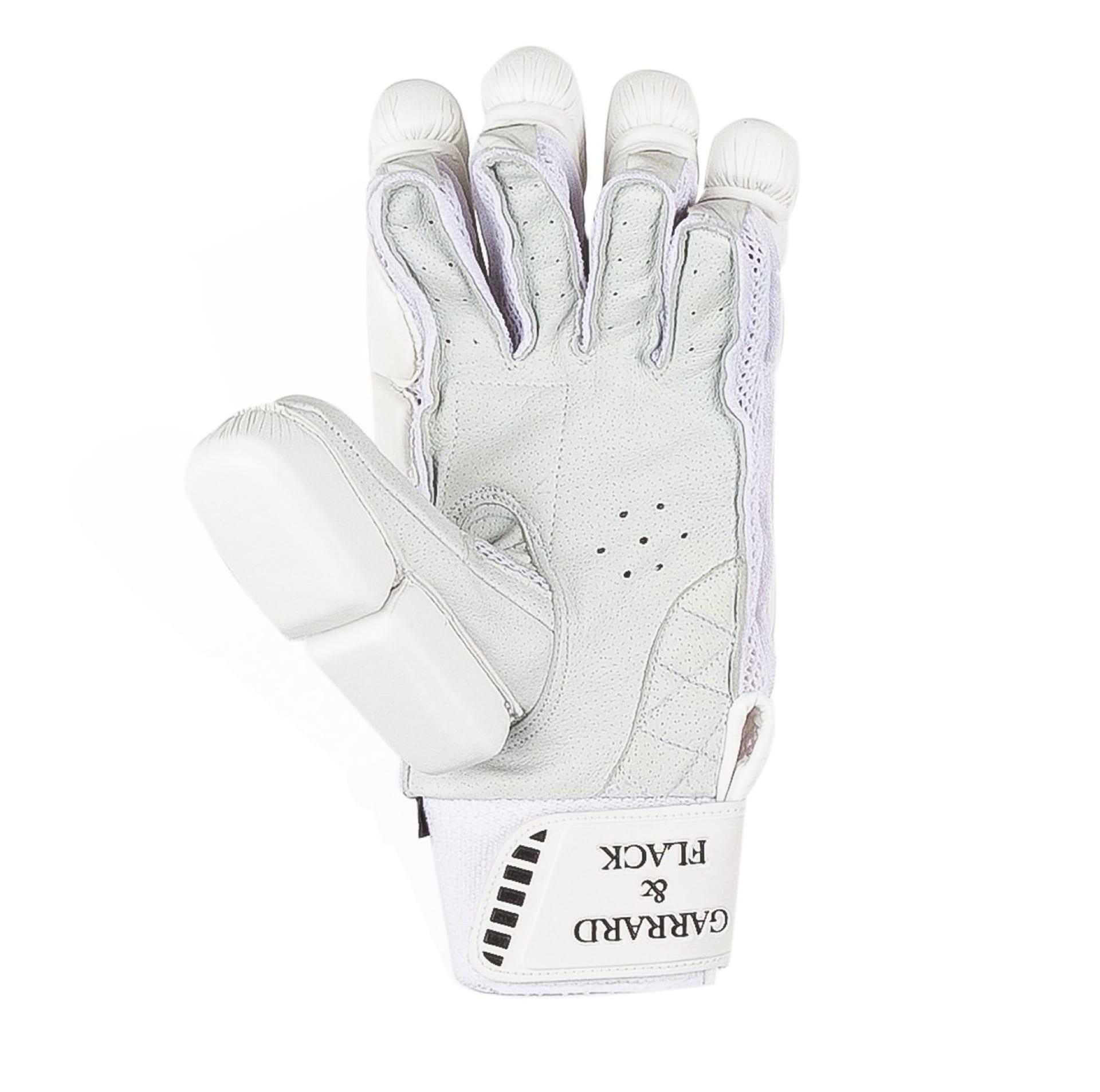 white cricket glove waving at you
