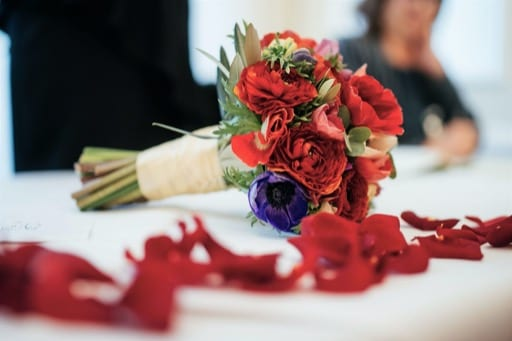 Frances' Beautiful Winter Wedding in Richmond