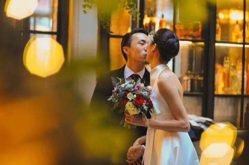 Huiyu and Jun's Wintery Manchester Wedding