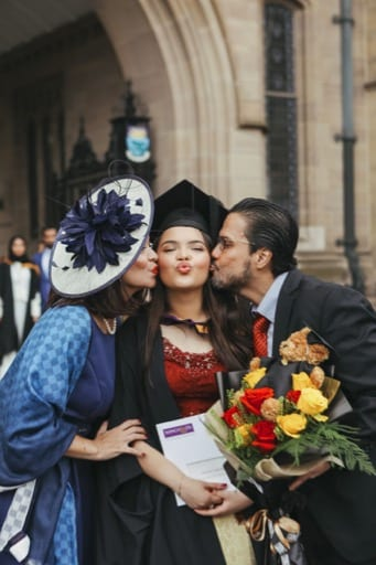 Amaris' Manchester graduation